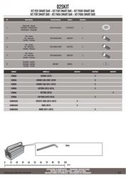 Givi 02skit zestaw montażowy do mocowania smart bar honda