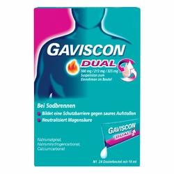 Gaviscon Dual 500mg213mg325mg Suspens.im Beutel