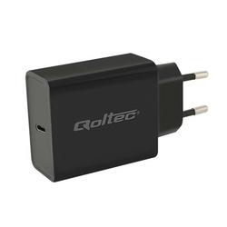 Qoltec Zasilacz USB typ C   Power Delivery   30W   5V-12V