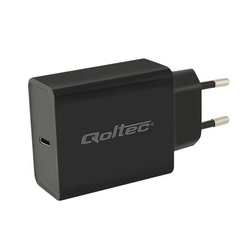 Qoltec Zasilacz USB typ C | Power Delivery | 30W | 5V-12V