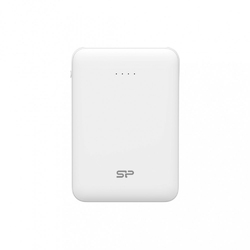 Silicon Power Power Bank C50 USB 5000 mAh mini biały