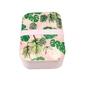 Lunchbox bambusowy w stylu vintage, tropikalne palmy, rex london - tropikalne palmy
