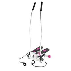 Stepper z ruchomymi linkami i ramionami s3085 biało-różowy - hms - biało-różowy