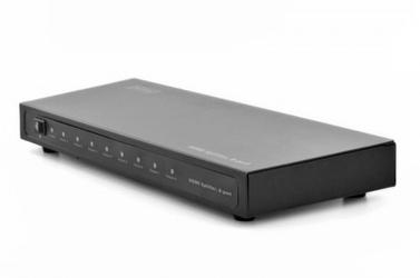 Digitus rozdzielaczsplitter hdmi 8-portowy, 1080p 60hz fhd 3d, hdcp 1.2, audio