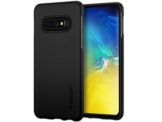 Etui spigen thin fit samsung galaxy s10e black + folia neo flex