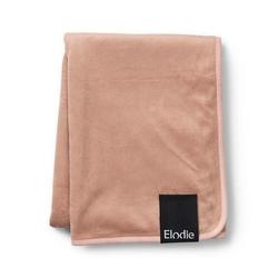 Elodie details - kocyk pearl velvet faded rose - faded rose
