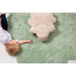 Dywan do prania w pralce puffy sheep, lorena canals 140 x 140 cm - owieczka