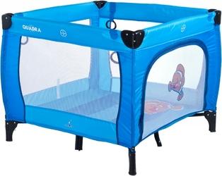 Caretero quadra blue kojec dla dziecka + puzzle