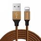 Baseus oryginalny kabel lightning iphone yiven 1,2m coffee - brązowy