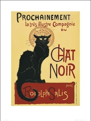 Secesja Chat Noir - plakat premium