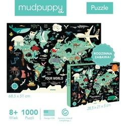Puzzle 1000 elementów - twój świat
