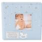 Album konik z miejscem na zdjęcie błękit pamiątka chrzest roczek dedykacja - album niebieski