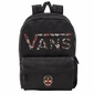 Plecak szkolny VANS Realm Flying - VN0A3UI8YGL 004 - Custom Calavera