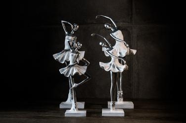 Duo figurka baletnica abi 33.5 cm