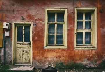 Vintage house - fototapeta