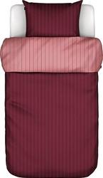 Pościel harsor czerwona 135 x 200 cm z poszewką na poduszkę 80 x 80 cm