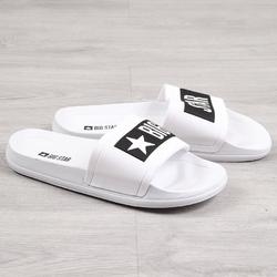 Klapki plażowe gumowe białe big star dd274a264 - biały