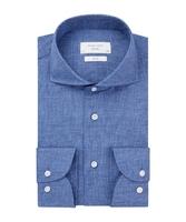 Niebieska przewiewna koszula profuomo sky blue 37