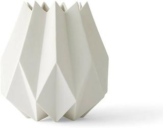 Wazon folded wysoki biały