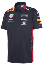 Koszulka polo aston martin red bull racing 2019