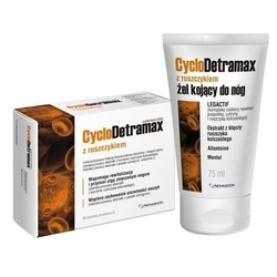 Cyclodetramax z ruszczykiem x 60 tabletek + cyclodetramax żel 75ml