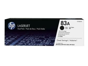 HP Toner 83A 1.5k CF283AD DWUPAK CZARNY