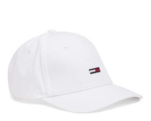 Czapka Tommy Hilfiger Flag - AU0AU00068-100 - Bright White