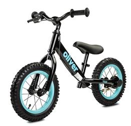 Toyz oliver black rowerek biegowy pompowane koła + lampka led