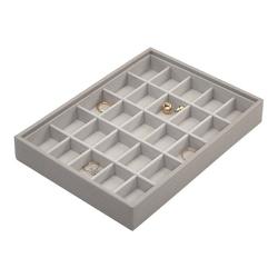 Pudełko na biżuterię 25 komorowe classic Stackers taupe