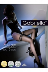 Pończochy samonośne gabriella 202 calze lux 15 den