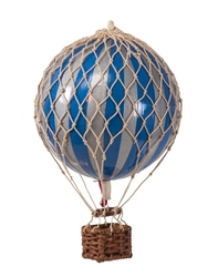Authentic models balon dekoracyjny- floating the skies, srebrno- niebieski ap160sb