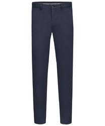 Męskie ciemnogranatowe spodnie typu chino  48
