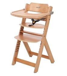 Safety 1st timba natural drewniane krzesełko do karmienia + puzzle