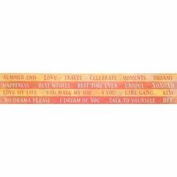 Pasek z napisami BANANARAMA - angielskie napisy - angielskie