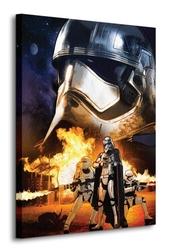 Star wars episode vii captain phasma art - obraz na płótnie