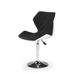 Swage 2 fotel młodzieżowy czarno-biały