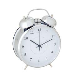 Budzik Wake Up srebrny 23 cm