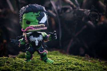 Hulk-venom pop - plakat wymiar do wyboru: 80x60 cm