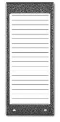Aco cdn-17n st podświetlany panel listy lokatorów ok. 17 wpisów - szybka dostawa lub możliwość odbioru w 39 miastach