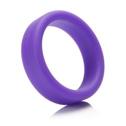 Mocno rozciągliwy pierścień miękki na penisa - tantus super soft c-ring fioletowy