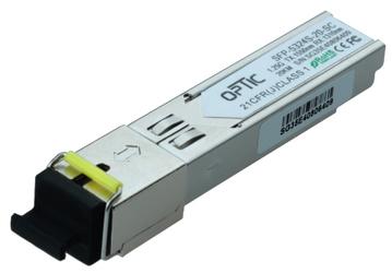MODUŁ SFP WDM 1.25Gbps, SC SM, 16dB 20km  TX1550RX1310 - Szybka dostawa lub możliwość odbioru w 39 miastach