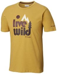 T-shirt męski columbia terra vale em0737718