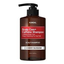 Kundal szampon przeciw wypadaniu włosów z kofeiną - kwiat wiśni anti-hair loss scalp care scalp shampoo cherry blossom 500ml