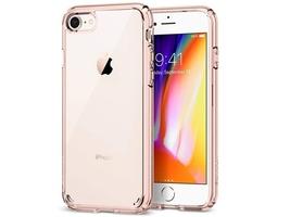 Etui spigen ultra hybrid 2 apple iphone 78 rose crystal - różowy