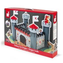Zamek rycerski drewniany z 9 akcesoriami