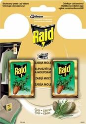 Raid Tarme Cedar, zawieszka przeciw molom, 2 sztuki