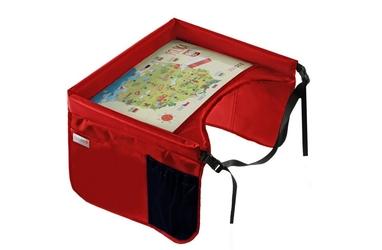 Bezpieczny stolik podróżnika - czerwony