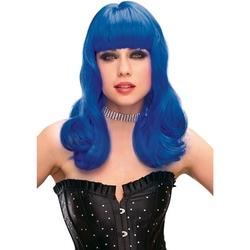 Sexshop - peruka pleasure wigs - model perry wig blue - online