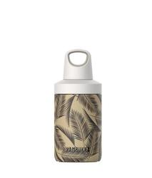 Butelka na wodę kambukka reno insulated 300 ml - palms - beżowy