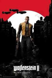 Wolfenstein 2 the new colossus key art - plakat